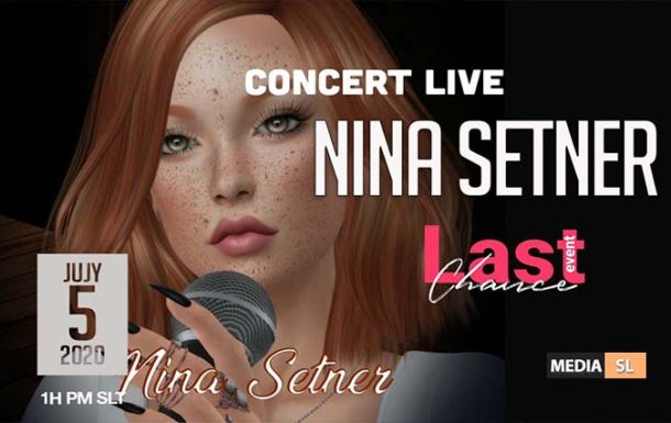 NINA SETNER CONCERT LIVE TODAY @ LAST CHANCE EVENT !! – Show