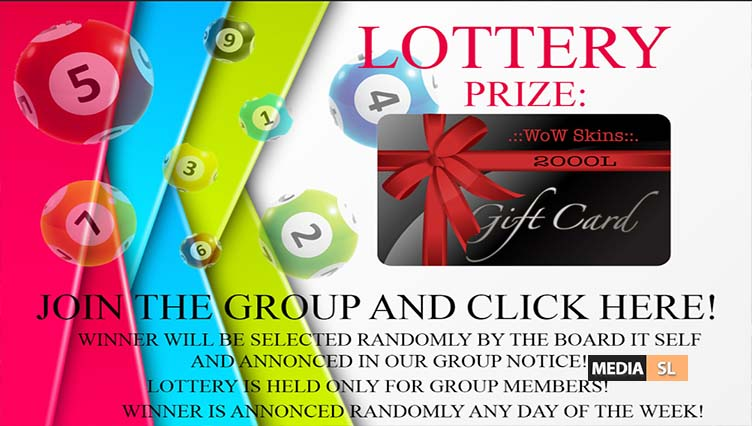 2000L GIFT CARD LOTTERY – SALE