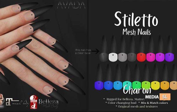 Stiletto Nails Charon – NEW