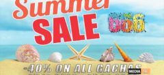 SUMMER SALE -40% ON ALL GACHAS – SALE
