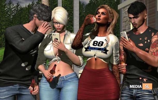 SuBLiMe PoSeS – Friend 4 – Bento Group Pose – NEW