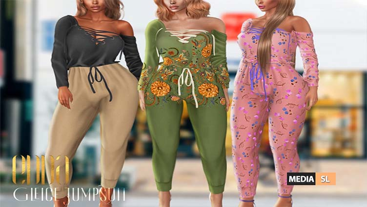 New Release@Gleice Jumpsuit – NEW