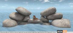 ".:Tm:.Creation ""Love on sea"" Beach Rocks OFF/IN SIM with anims. TR02 – NEW DECOR"