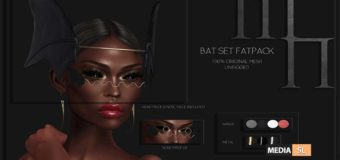 Bat Set by Madame Noir @The Darkness Event – NEW
