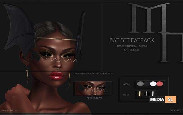 Bat Set by Madame Noir @The Darkness Event – NEW