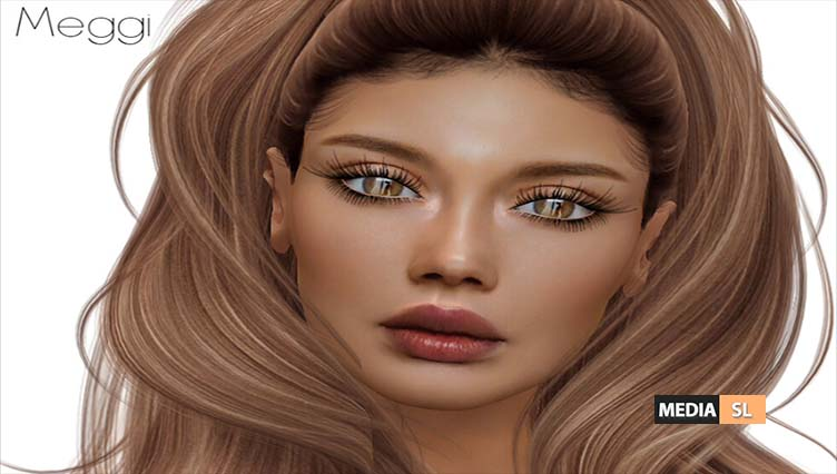 New- HEAD SKIN – MEGGI- CATWA, BOM, OMEGA – NEW