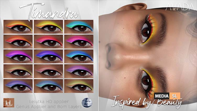 Timandra Eyeshadow – NEW