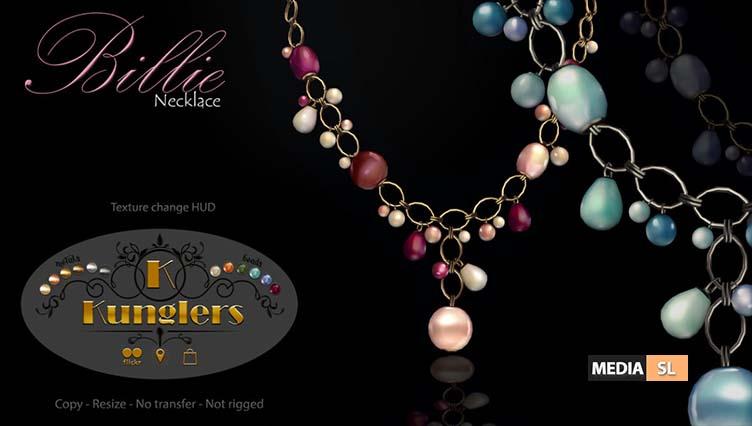 KUNGLERS – Billie necklace – NEW