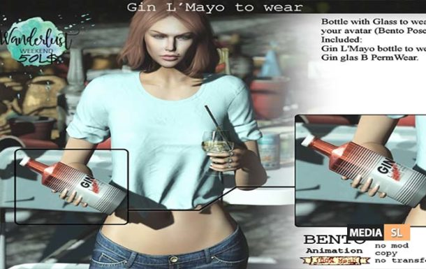 Gin L'Mayo to wear – SALE