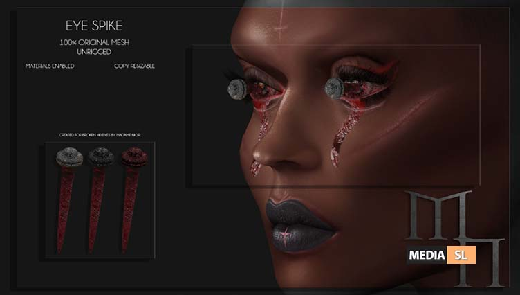 Eye Spike by Madame Noir – NEW