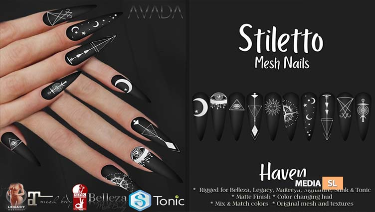 Stiletto Nails Haven – NEW