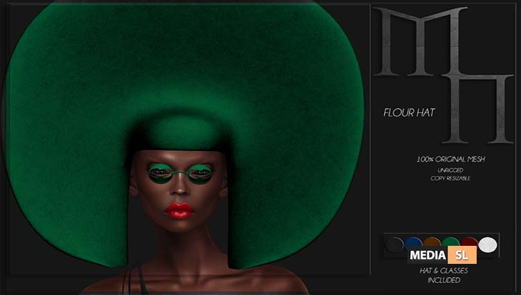 Flour Set by Madame Noir at WIP Event – NEW