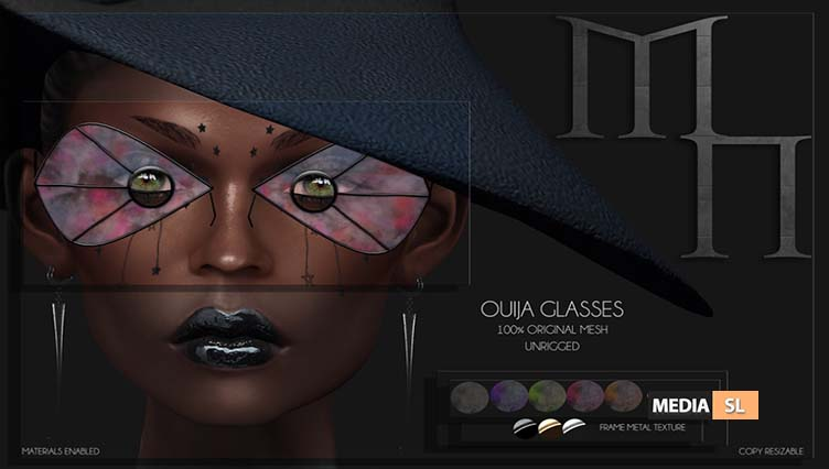 Ouija Glasses by Madame Noir – NEW