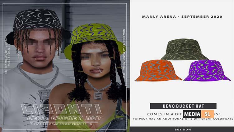 LF. – Devo Bucket Hat AD – NEW
