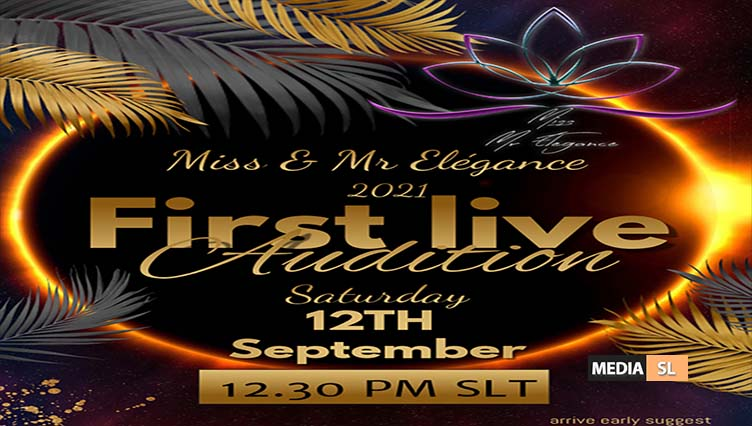 Miss & Mr Elegance ♛ 2021 – FIRST AUDITION