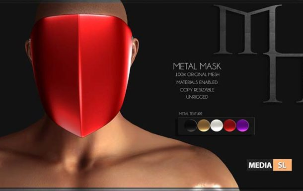 Metal Mask by Madame Noir @The Men & Women Jail Event – NEW MEN