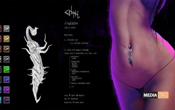 cinphul // leach – SALE