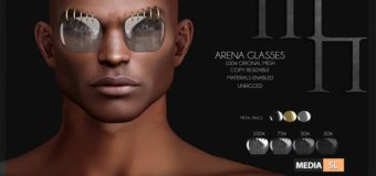 Arena Glasses by Madame Noir – NEW MEN