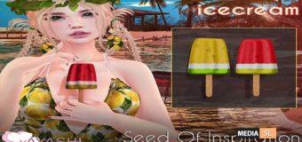[^.^Ayashi^.^] Watermelon icecream – GACHA