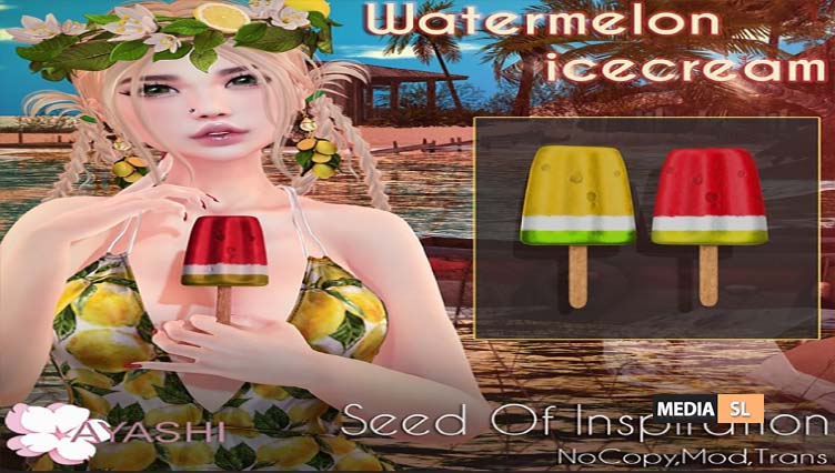 [^.^Ayashi^.^] Watermelon icecream – GACHA