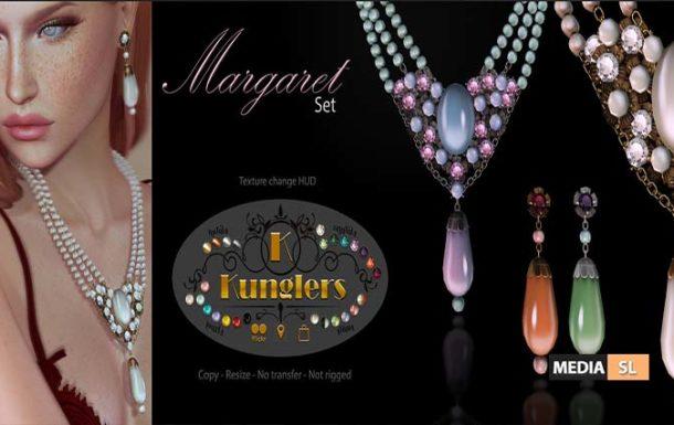 KUNGLERS – Margareth set – NEW