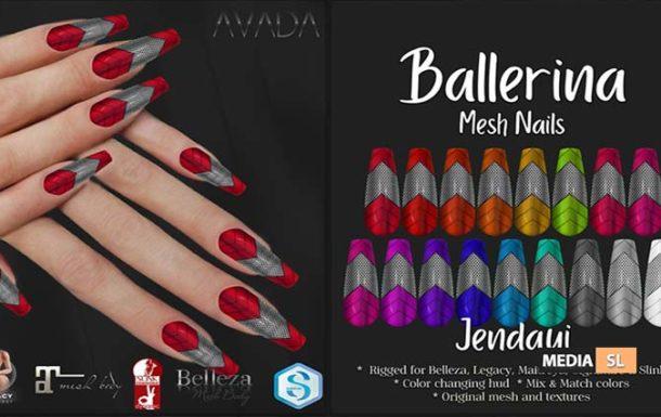 Jendayi Ballerina Nails – NEW