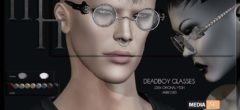 Deadboy Glasses by Madame Noir @The Men & Women Jail Event – NEW