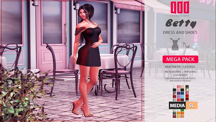 New release – [ADD] Betty Look – NEW