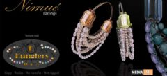 KUNGLERS – Nimue earrings – NEW