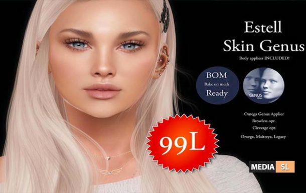 ESTELL SKIN GENUS 99L UNTIL MONDAY  – SALE