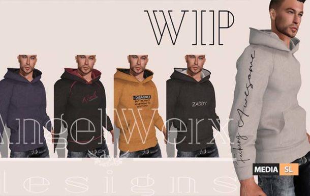 Hoodie WIP – NEW MEN