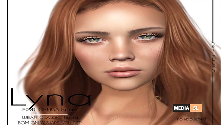 DS'ELLES – LYNA FOR GENUS HEAD  – NEW