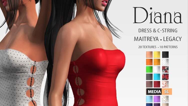 [ADD] Diana Dress – NEW
