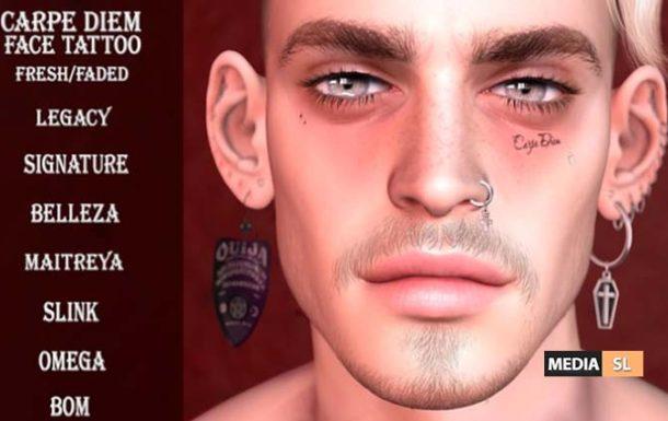 Two new tattoos @ SENSE EVENT – NEW MEN