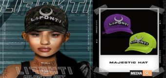 LIFONTI. – Majestic Hat @ Mainstore! – NEW