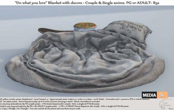 .:Tm:.Creation Blanket with decors – NEW DECOR