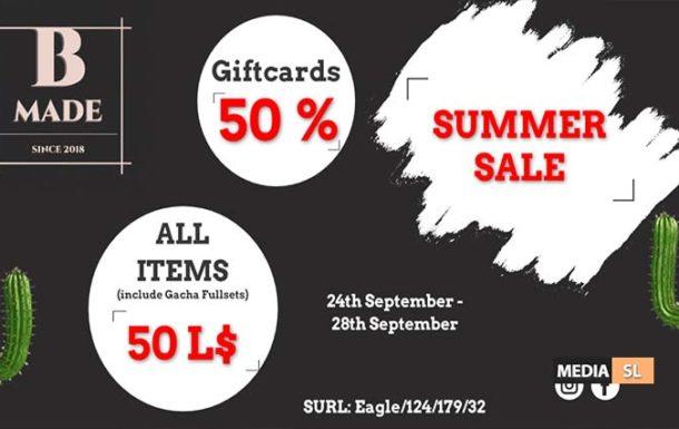 B-Made Summer Sale – SALE