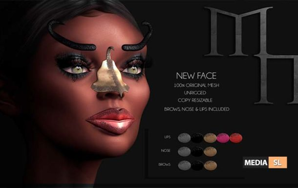 New Face by Madame Noir  – Sale