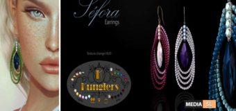 KUNGLERS – Sefora earrings – NEW
