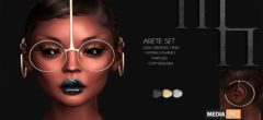 Arete Set by Madame Noir – NEW