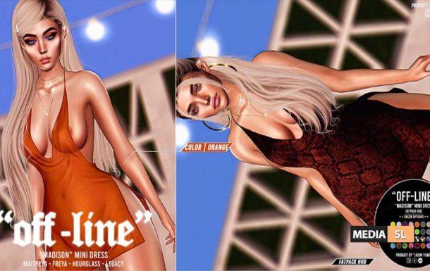 """""""Off-Line"""" x """"Madison"""" Mini Dress – NEW"""