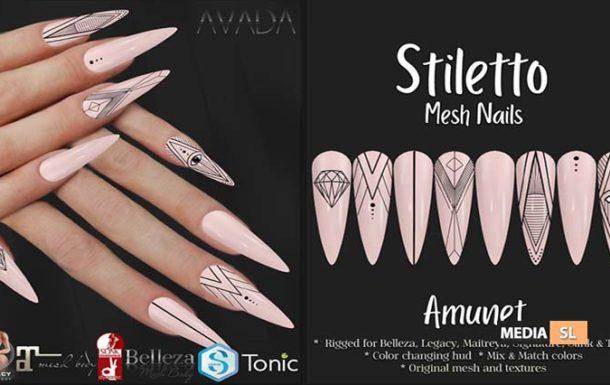 Stiletto Nails Amunet – NEW