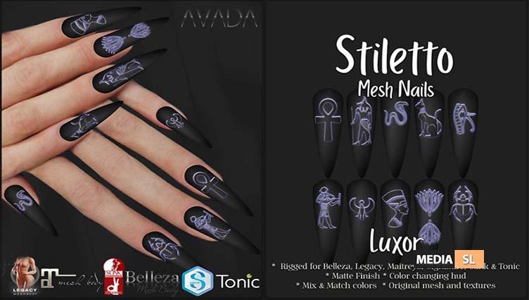 Stiletto Nails Luxor – NEW