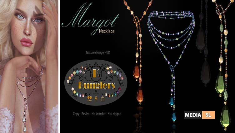 KUNGLERS Margot necklace – NEW
