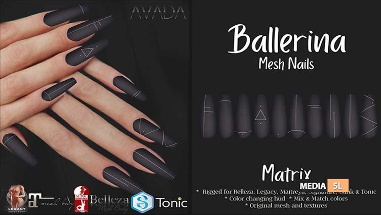 Ballerina Nails Matrix – SALE