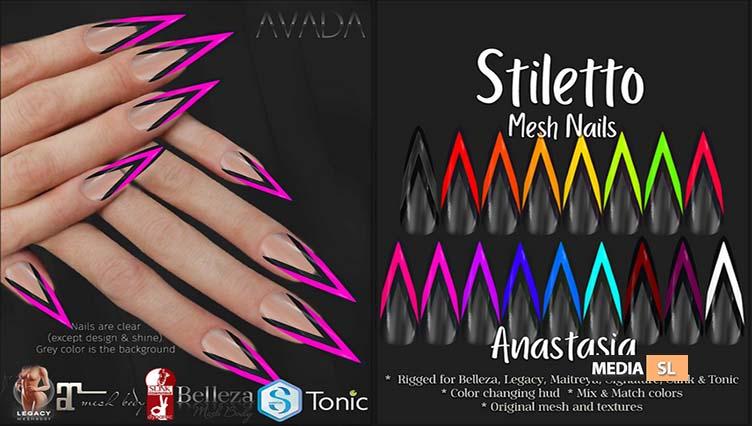 Stiletto Nails Anastasia – NEW