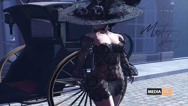 Gothic SET – Mysterious stranger – NEW