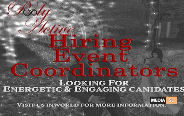 Events Coordinator – JOB