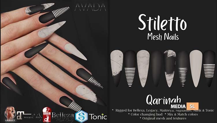 Stiletto Nails Qarinah – NEW