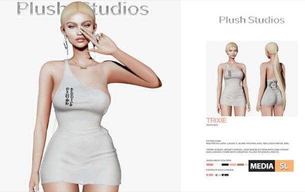 "Plush Studios ""Trixie Jersey Dress"" – NEW"